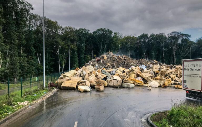Die Flutkatastrophe mit ihren Auswirkungen auf den Abfallmarkt